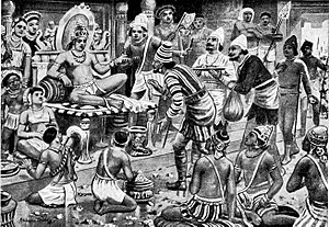 Pulikesin II, the Chalukhaya, receives envoys from Persia (1).jpg