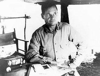 Chesty Puller - Lt. Col. Puller on Guadalcanal in September, 1942
