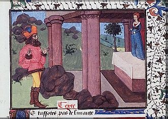 Christine de Pizan - From Pygmalion at the Temple of Venus, c. 1475