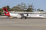 QantasLink (VH-QOV) Bombardier DHC-8-402Q taxiing at Wagga Wagga Airport.jpg