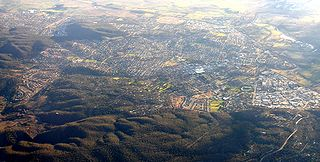 Queanbeyan City in New South Wales, Australia