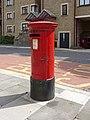 Queen Elizabeth II Pillar Box in Wapping Lane, London E1 - geograph.org.uk - 1448509.jpg