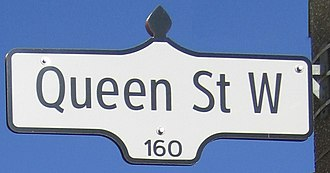 Queen Street West - Image: Queen Street Toronto 2006 2