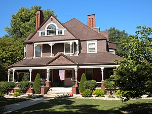 Quincy East End Historic District - Image: Quincy East End Historic District