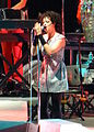 Régine Chassagne of Arcade Fire at the Palace of Auburn Hills, Detroit MI 09.jpg