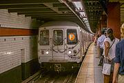 R46 Subway Car, 5732, F, September 5th, 2014