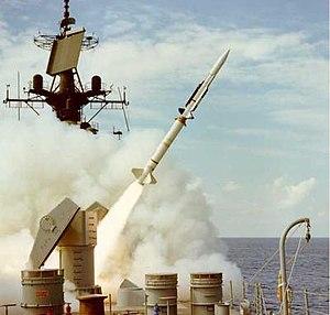 RIM-67 Standard - RIM-67A Launching