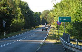 Roztoka, Masovian Voivodeship Village in Masovian, Poland