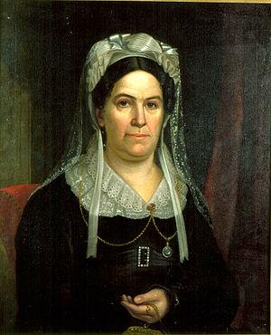 Rachel Jackson - Portrait by Ralph E. W. Earl, 1823