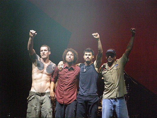 Rage Against The Machine., From WikimediaPhotos