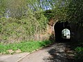Railway bridge over small lane to Harbledown - geograph.org.uk - 779956.jpg