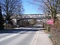 Railway bridge over the A6187 at Hope - geograph.org.uk - 1742876.jpg
