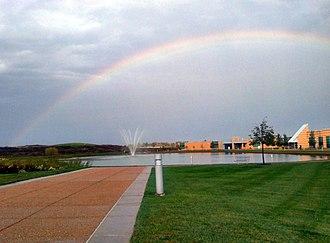 Cottleville, Missouri - Rainbow at St. Charles Community College in Cottleville, October 2011