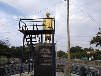 C. Rajagopalachari - C. Rajagopalachari's Statue in Salem