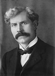 Ramsay MacDonald, the first Labour Prime Minister, 1924, 1929–35 (National from 1931-35)