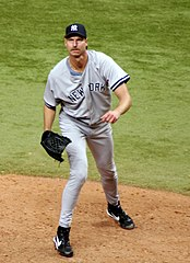Randy Johnson podczas gry w New York Yankees