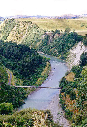 Rangitikei River - Rangitikei River near Bulls