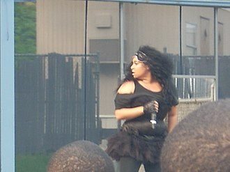 Raven-Symoné - Raven performing on tour in 2009