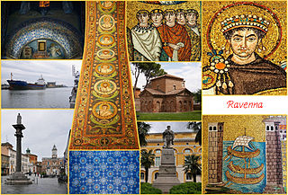 Ravenna city in northern Italy
