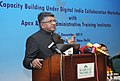 Ravi Shankar Prasad addressing at the inauguration of the workshop on Collaboration with State Administrative Training Institutes (ATIs) and ApexCentral Training Institutes (CTIs), in New Delhi on December 14, 2015.jpg