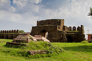 Rawat Fort - Image: Rawat Fort Eastern Gate from Inside 2