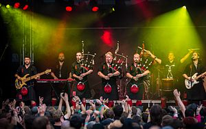 Red Hot Chilli Pipers - Red Hot Chilli Pipers - Wacken Open Air 2016