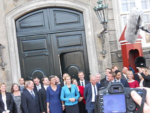 2011 in Denmark - Presentation of the new government on 3 October