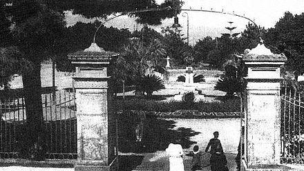 I Giardini Pubblici Umberto I nell'800.