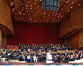 Rehearsal at the Jay Pritzker Pavilion in Chicago's Millennium Park.jpg