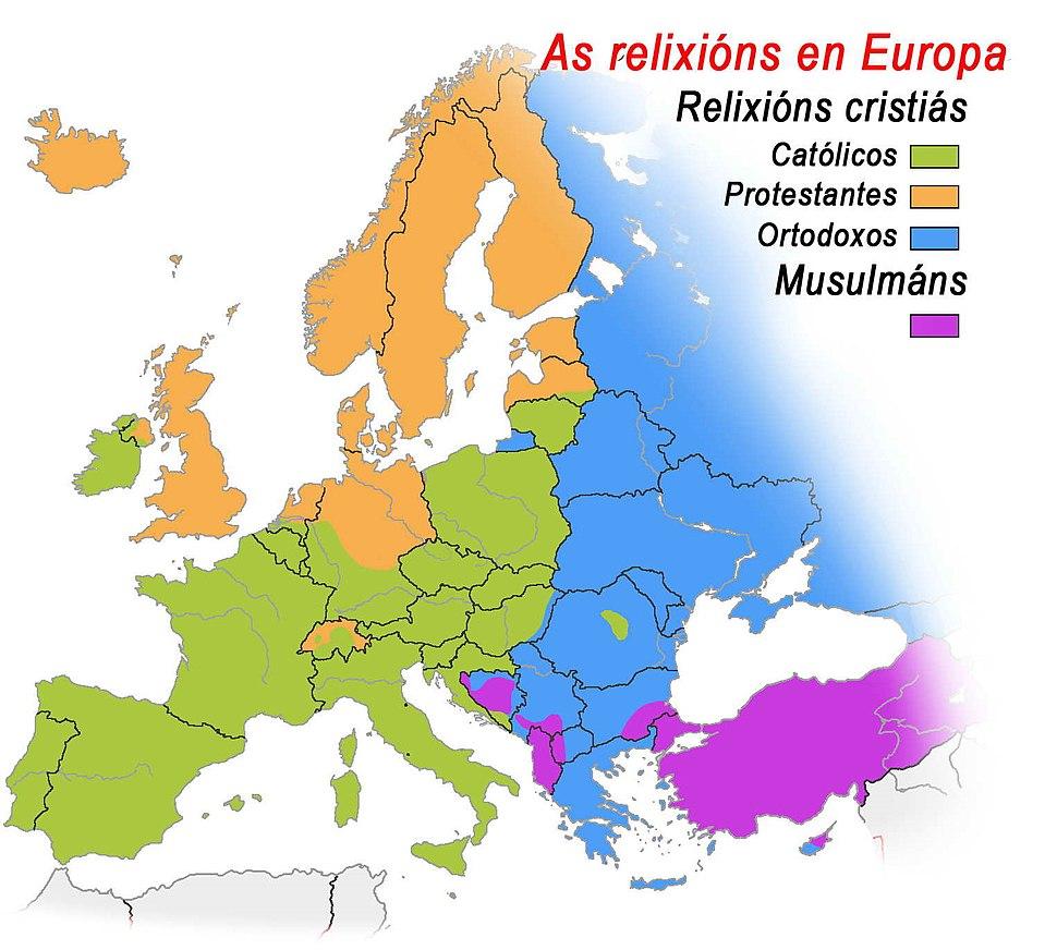 Relixións de europa lg