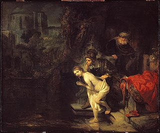 <i>Susanna and the Elders</i> (Rembrandt) painting by Rembrandt