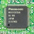 Renault 8200607915 - CD player - controller - Panasonic MN101C67DAA-1195.jpg