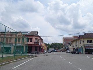 Renggam Mukim in Johor, Malaysia