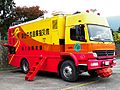 Rescue Command and Communications Post Vehicle FCV12 of Fire Bureau, Taitung County Govement 20120324.jpg