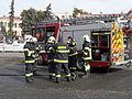 Retro městečko D11. Zásah-hořící auto.jpg