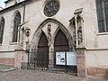 Ribeauvillé - Eglise de la Providence (ancienne église des Augustins) - 3 place de l'Hôtel-de-Ville - rue de l'Abbé Kremp (8-2016) IMG 3290.jpg