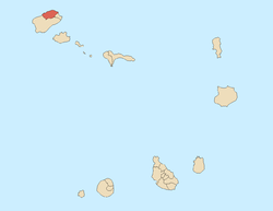Location of Ribeira Grande