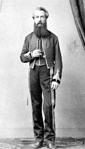 Colony of British Columbia (1858–1866) - Col. Richard Moody, commander of the Columbia detachment