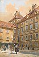 Richard Moser Eingang zur Schauflergasse Wien 1900.jpg