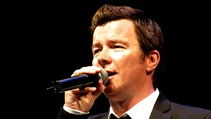 Rick Astley - Astley performing in Copenhagen, Denmark, July 2009