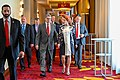 Rick Perry and Georgette Mosbacher in Warsaw - 2019.jpg