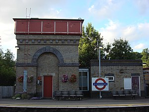Rickmansworth station - Image: Rickmansworth station 4