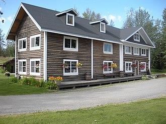 Rika's Landing Roadhouse - Image: Rika's Landing Roadhouse front DSCN0514