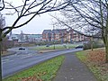 Ring road roundabout at junction of Proud Cross Ringway, Bewdley Road etc. Kidderminster - geograph.org.uk - 1107971.jpg