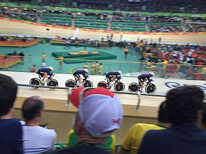 Cycling at the 2016 Summer Olympics – Women's team pursuit - United States won the silver medal