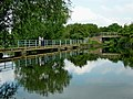 River Soar and canal near Thurmaston, Leicestershire (geograph 5975485).jpg