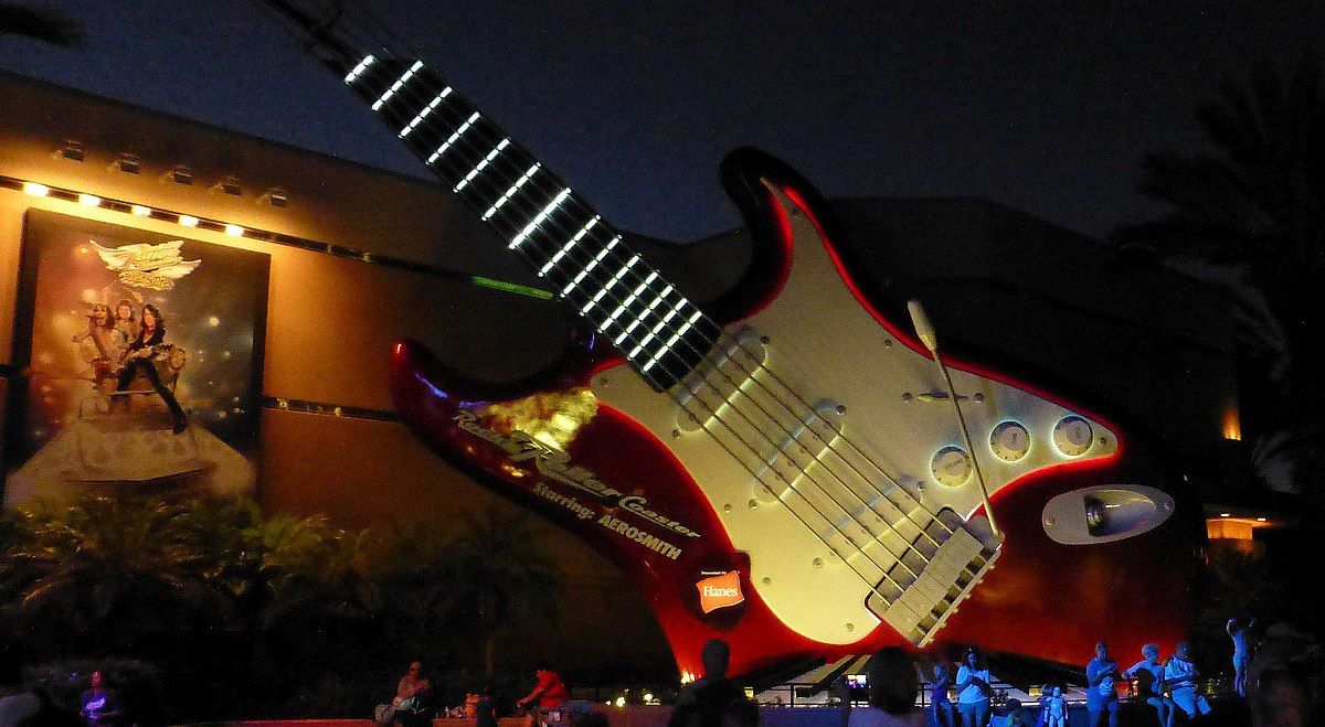 Rock N Roller Coaster Wikipedia