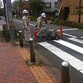 Road maintenance workers painting lines - June 2 2015.jpg