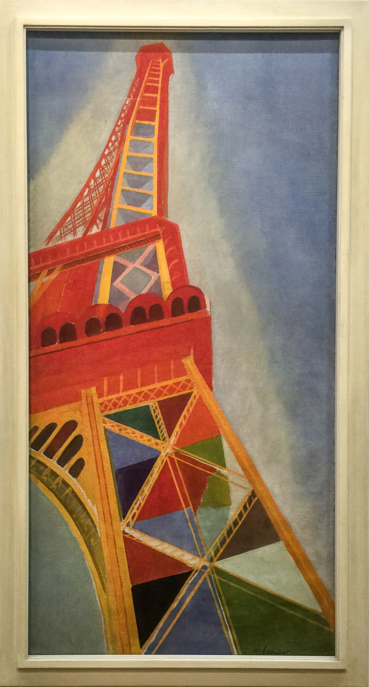 La Tour Eiffel Delaunay 1926 Wikipedia