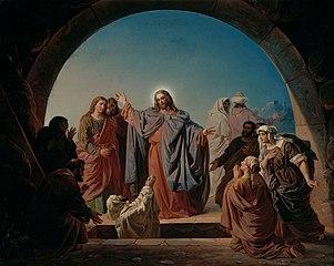 Jesus Wakes Lazarus
